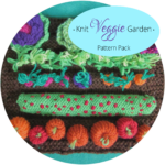 Knit Veggie Garden Pattern Pack